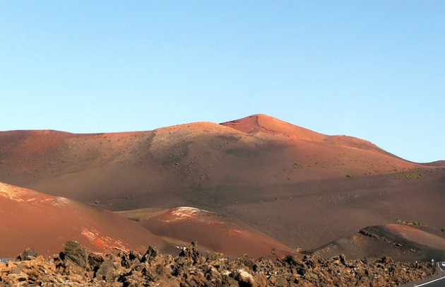 Shades of Martian Red, Timanfaya National Park, Lanzarote