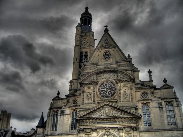 The Church of Saint Etienne du Mont