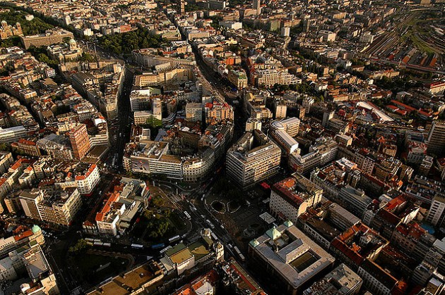 Belgrade from above