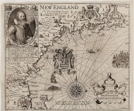 New England Old Map