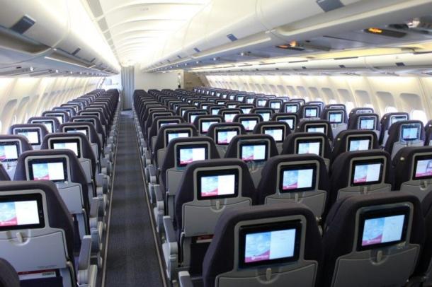 Airbus A330-200 interior