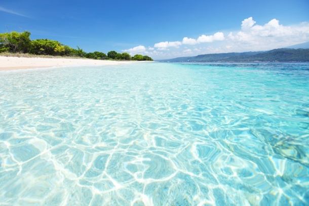 The amazing beach of Bali