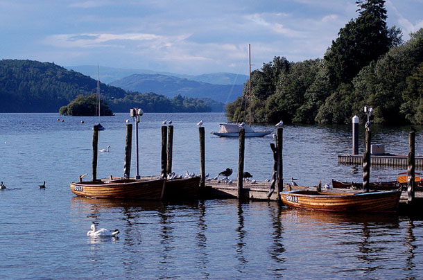 Boats in Windermere