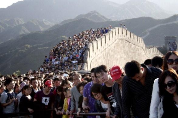 Oktober 8th at Great Wall near Beijing!