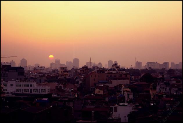 Hanoi dawn