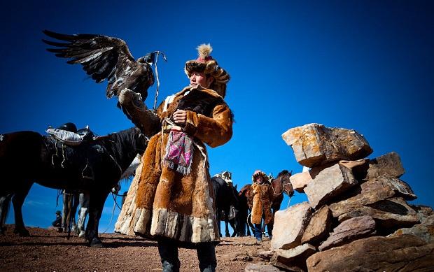 Altai Russia Eagle Hunter