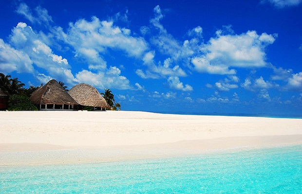 Amazing beach in Maldives