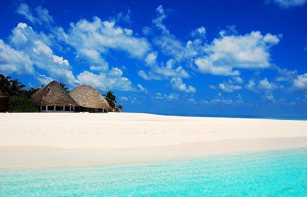 Amazing beach in Maldives