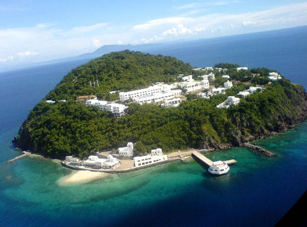 Bellarocca island resort, Phillipines