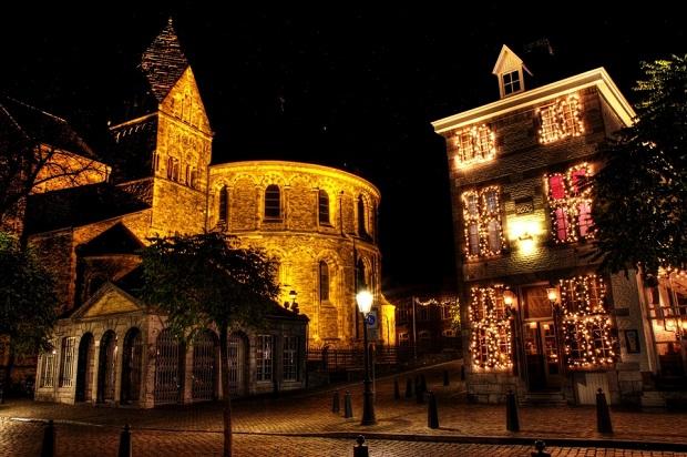 Maastricht market place