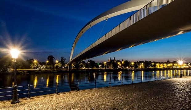 Maastricht river bridge