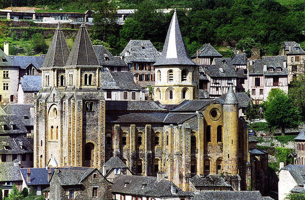 Conques church