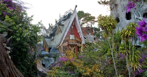 Dalat Crazy House from afar