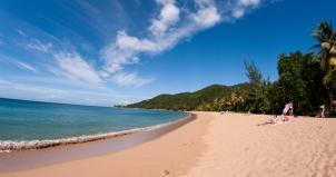 Grand Anse beach, Guadeloupe