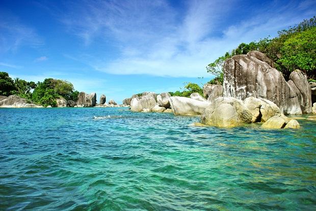 Lengkuas Island Rocks