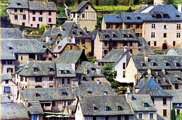 Rooves of Conques