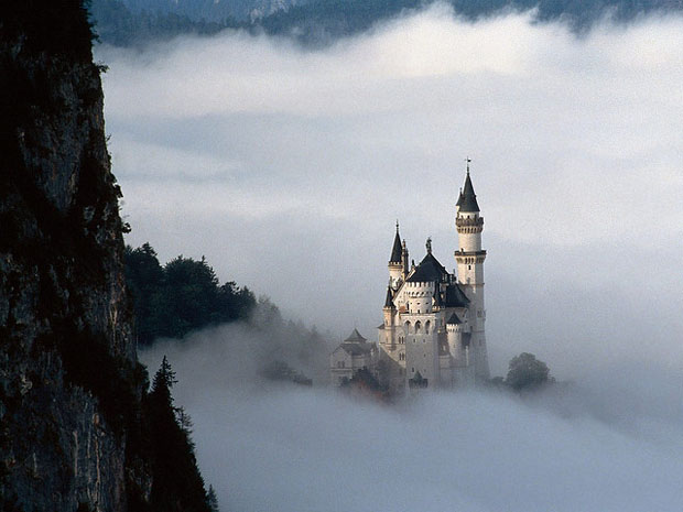 The fairytale castle