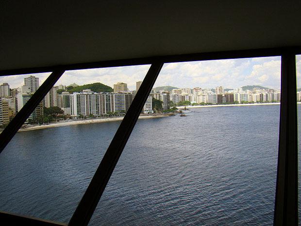 View of Rio de Janeiro from the museum