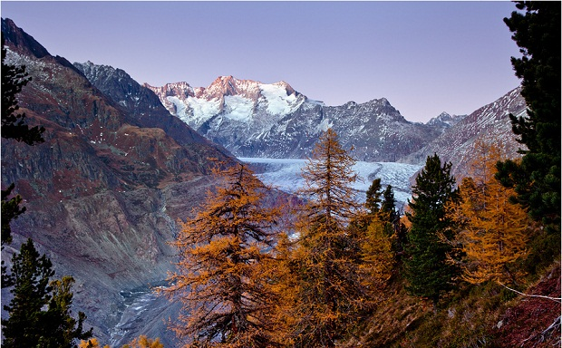 Fall at the Glacier