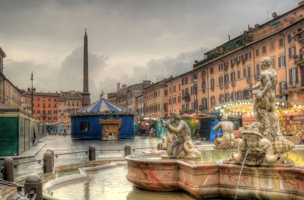 Christmas Market on Navona Square