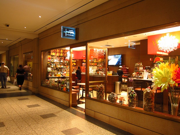 Jaques Torres Chocolate shop