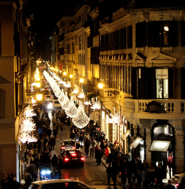 Nightlife in Rome for New Year