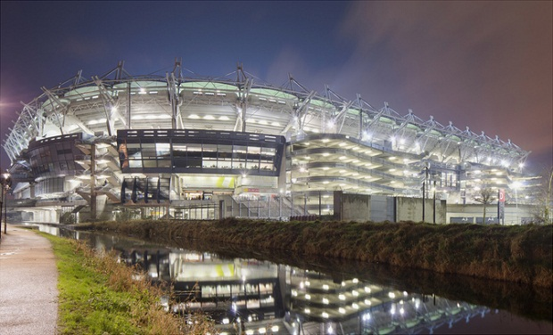 Croke Park all lit up