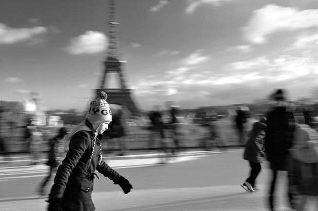 Paris Ice Skating