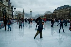 Paris Ice Skating