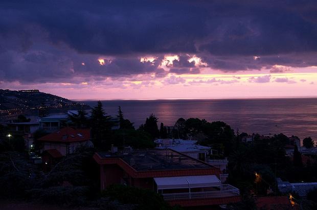Sanremo sunset