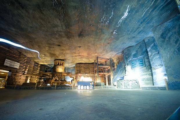 Wieliczka interior