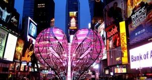 Times Square Valentine's day