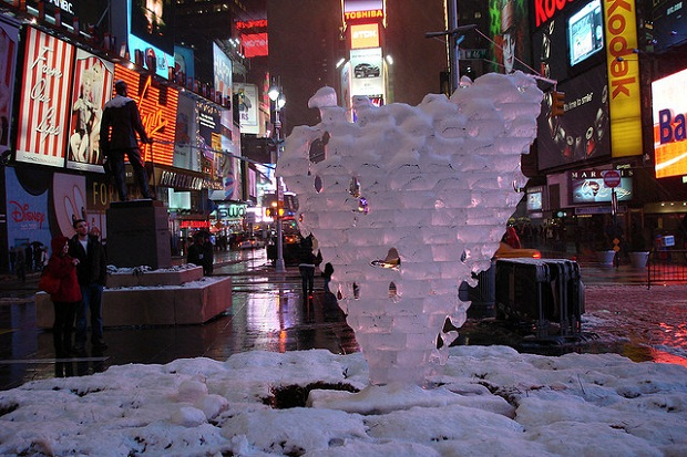 Times Square Valentine's day