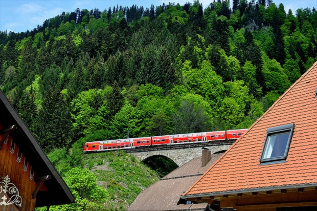 Black Forest railroad
