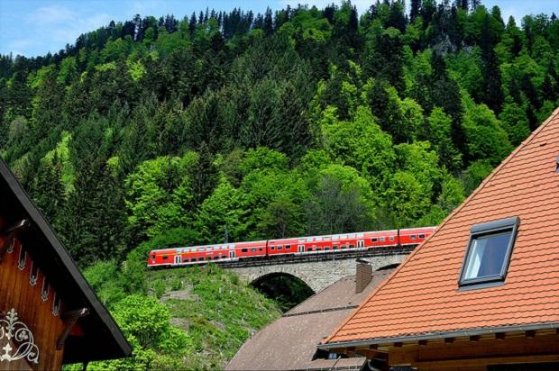 Black Forest railroad