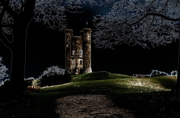 Broadway Tower at Night