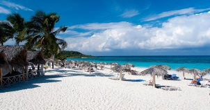 Cuban Cayos Beach