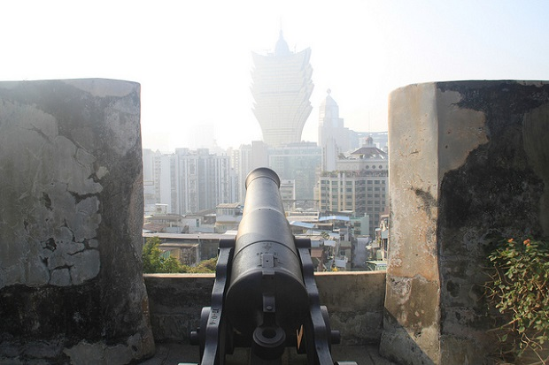 Macau Cannon on the Walls
