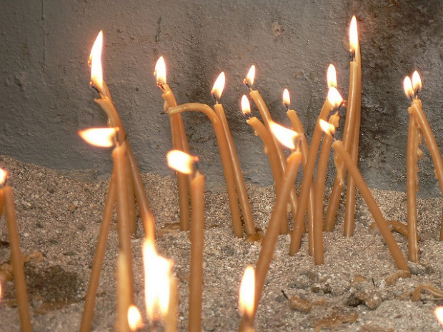 Patmos Church Candles