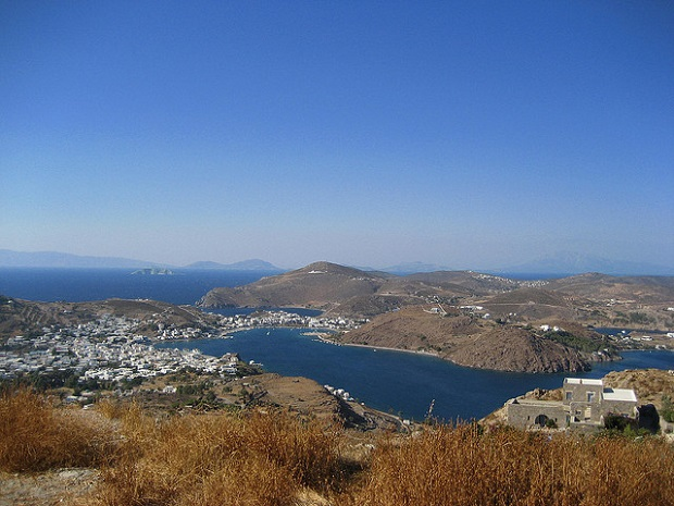Patmos From afar