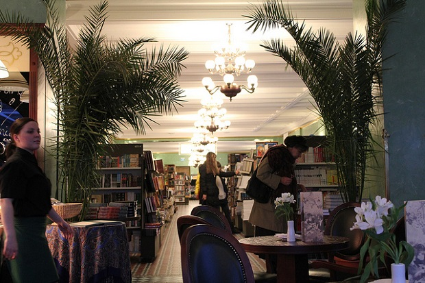 Inside the Singer Coffee Library
