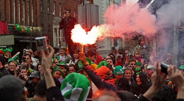 St. Patrick's Day Green Parade
