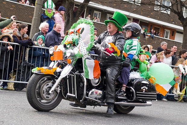 St. Patrick's Day Motorbikes of the Parade