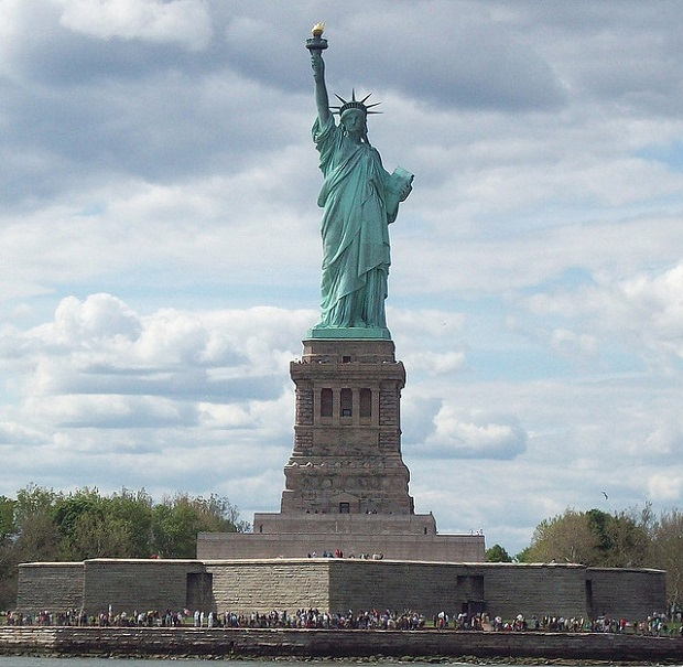 Statue of Liberty Face to Face