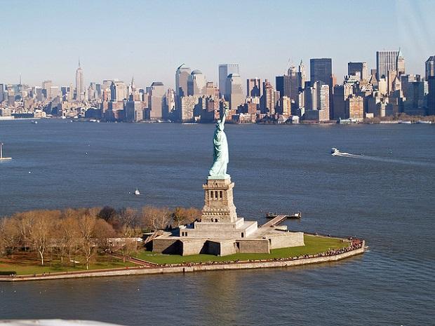 Statue of Liberty Sideshot