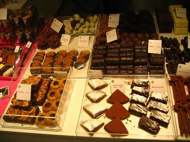Barcelona chocolates