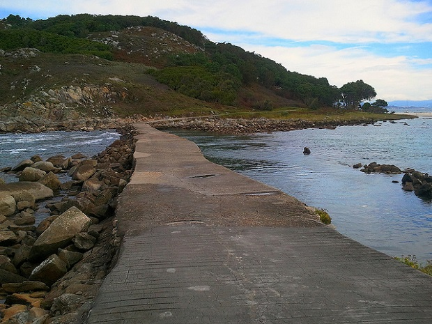 Cies Islands Causeway