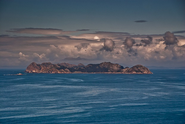 Cies Islands from afar