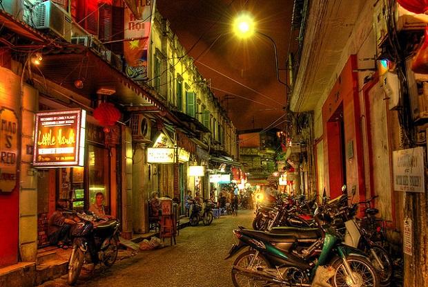 Hanoi Nightime