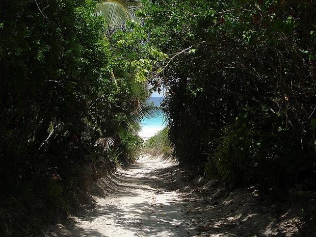 Pink Sand Beach Entrance